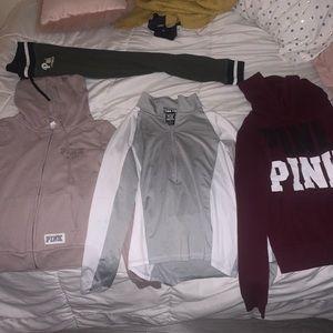 VS PINK Hoodies and Pants